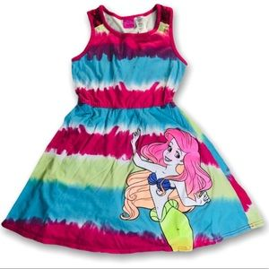 Disney Girls The Little Mermaid Dress Ariel M 7/8